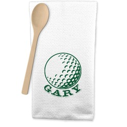 Golf Waffle Weave Kitchen Towel (Personalized)