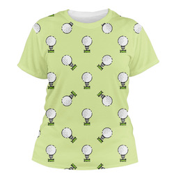 Golf Women's Crew T-Shirt (Personalized)