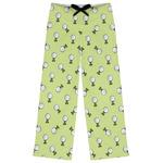 Golf Womens Pajama Pants (Personalized)