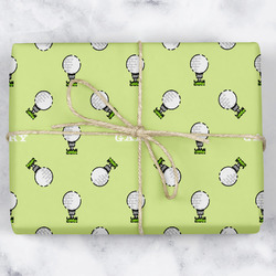 Golf Wrapping Paper (Personalized)