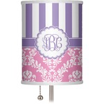Pink & Purple Damask 7