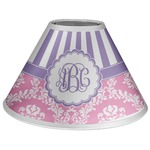 Pink & Purple Damask Coolie Lamp Shade (Personalized)
