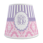 Pink & Purple Damask Empire Lamp Shade (Personalized)