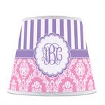 Pink & Purple Damask Empire Lamp Shade (Personalized)