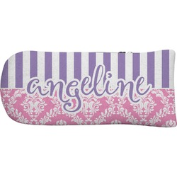 Pink & Purple Damask Putter Cover (Personalized)