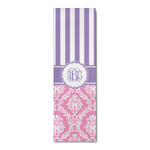 Pink & Purple Damask Runner Rug - 3.66'x8' (Personalized)