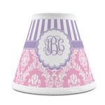 Pink & Purple Damask Chandelier Lamp Shade (Personalized)