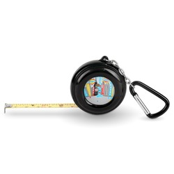 Superhero in the City Pocket Tape Measure - 6 Ft w/ Carabiner Clip (Personalized)