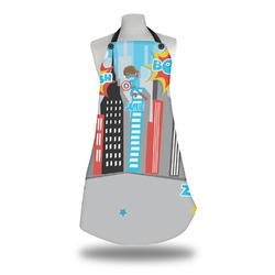 Superhero in the City Apron (Personalized)