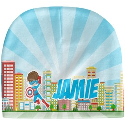 Superhero in the City Baby Hat (Beanie) (Personalized)