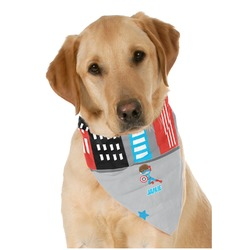 Superhero in the City Pet Bandanas (Personalized)
