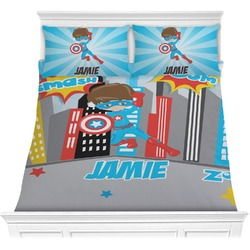Superhero in the City Comforters (Personalized)