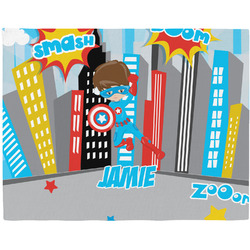 Superhero in the City Placemat (Fabric) (Personalized)