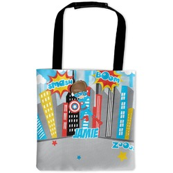 Superhero in the City Auto Back Seat Organizer Bag (Personalized)