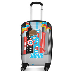 """Superhero in the City Suitcase - 20"""" Carry On (Personalized)"""