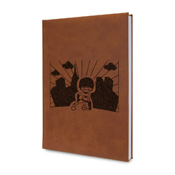 Superhero in the City Leatherette Journal (Personalized)