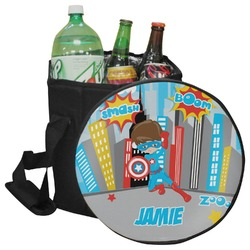 Superhero in the City Collapsible Cooler & Seat (Personalized)