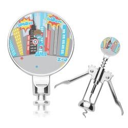 Superhero in the City Corkscrew (Personalized)