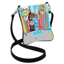 Superhero in the City Cross Body Bag - 2 Sizes (Personalized)