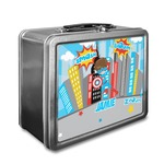 Superhero in the City Lunch Box (Personalized)