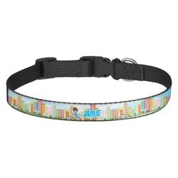 Superhero in the City Dog Collar - Multiple Sizes (Personalized)
