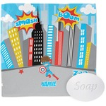 Superhero in the City Wash Cloth (Personalized)