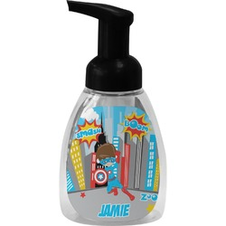 Superhero in the City Foam Soap Bottle (Personalized)