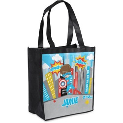 Superhero in the City Grocery Bag (Personalized)