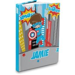 Superhero in the City Hardbound Journal (Personalized)