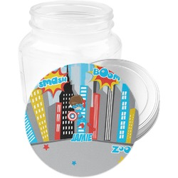 Superhero in the City Jar Opener (Personalized)