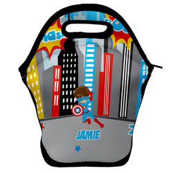 Superhero in the City Lunch Bag (Personalized)
