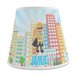 Superhero in the City Empire Lamp Shade (Personalized)