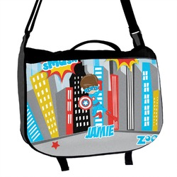 Superhero in the City Messenger Bag (Personalized)