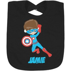 Superhero in the City Bib - Select Color (Personalized)