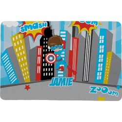 Superhero in the City Comfort Mat (Personalized)