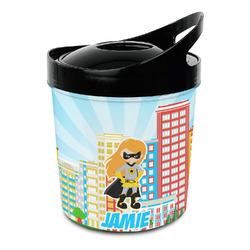 Superhero in the City Plastic Ice Bucket (Personalized)