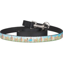 Superhero in the City Pet / Dog Leash (Personalized)