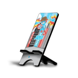 Superhero in the City Phone Stand (Personalized)