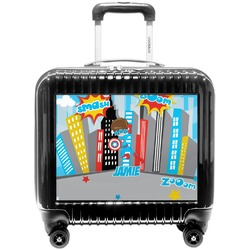 Superhero in the City Pilot / Flight Suitcase (Personalized)