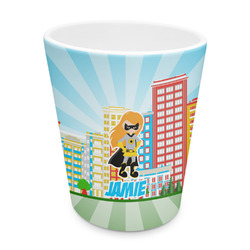 Superhero in the City Plastic Tumbler 6oz (Personalized)