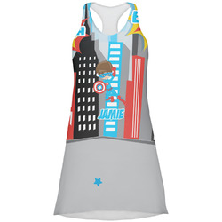 Superhero in the City Racerback Dress (Personalized)