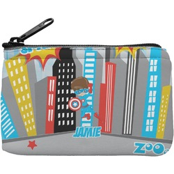 Superhero in the City Rectangular Coin Purse (Personalized)