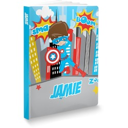 Superhero in the City Softbound Notebook (Personalized)