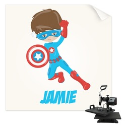 Superhero in the City Sublimation Transfer (Personalized)