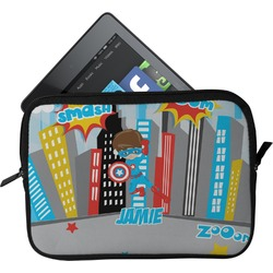 Superhero in the City Tablet Case / Sleeve (Personalized)
