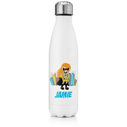 Superhero in the City Tapered Water Bottle - 17 oz. - Stainless Steel (Personalized)