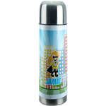 Superhero in the City Stainless Steel Thermos (Personalized)