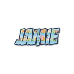 Superhero in the City Name/Text Decal - Custom Sized (Personalized)