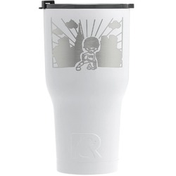 Superhero in the City RTIC Tumbler - White (Personalized)
