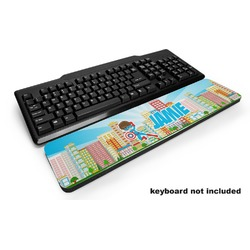Superhero in the City Keyboard Wrist Rest (Personalized)